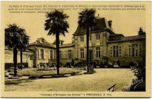 1953 - Louis Machy achète le château d'Armajan